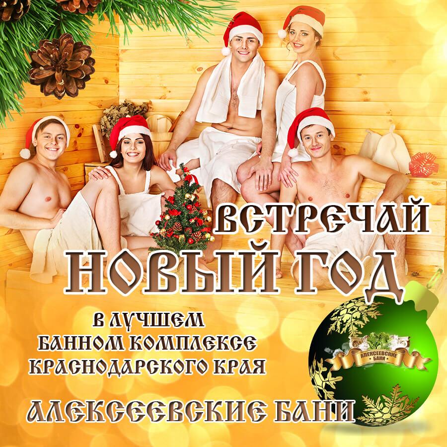 новый год в алексеевских банях