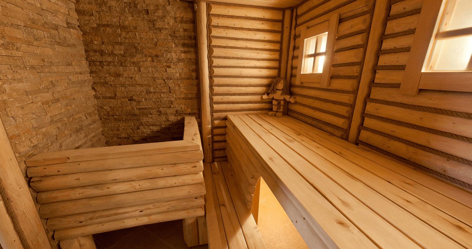Баня 1 на Онежской с финской сауной