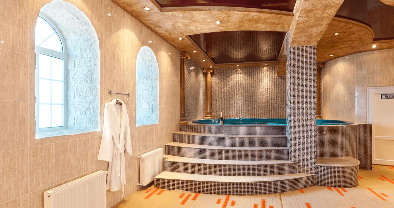 Баня 5 на Онежской Алексеевские бани