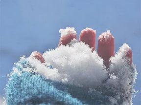обтирание снегом