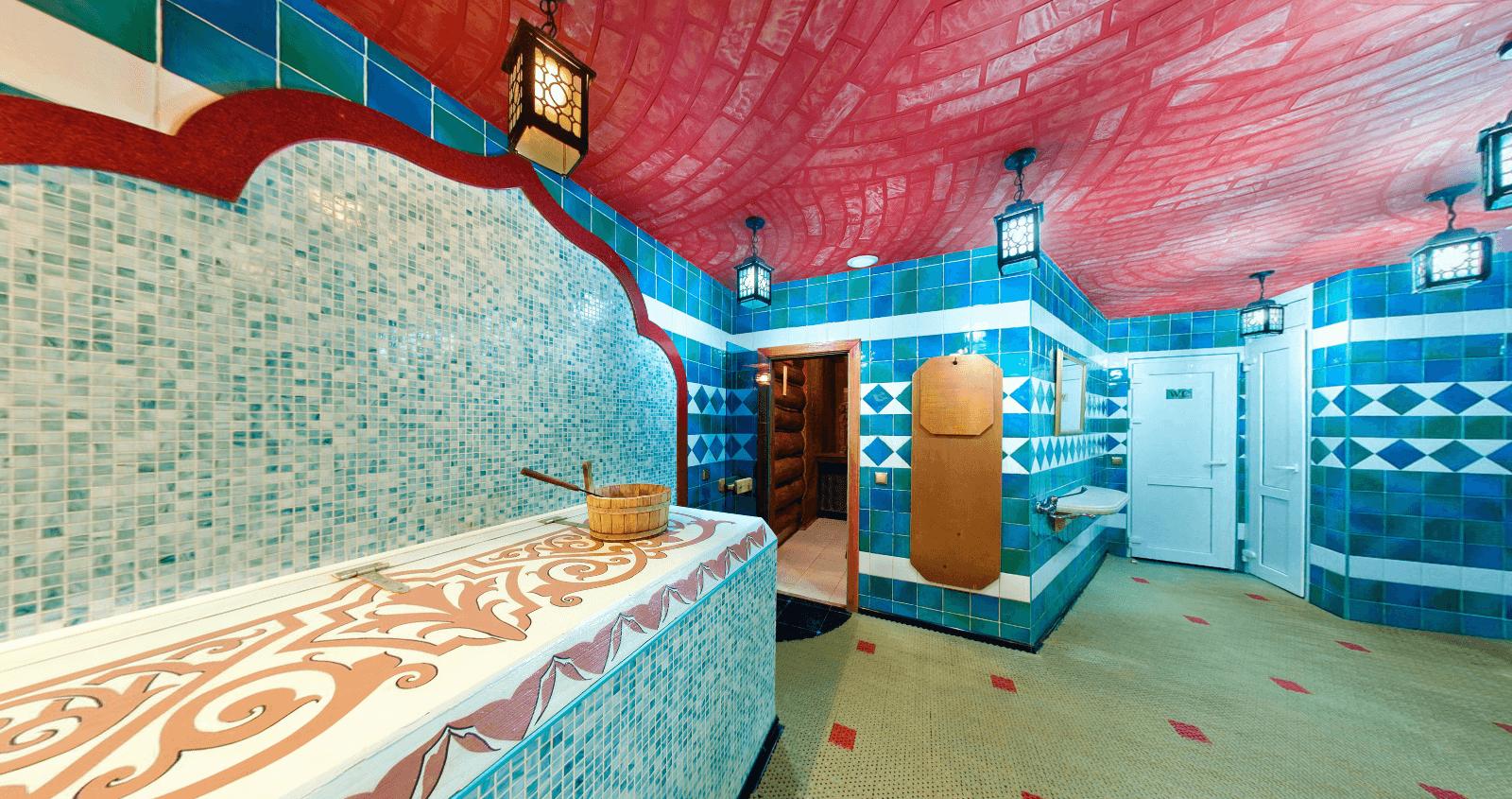 баня в восточном стиле