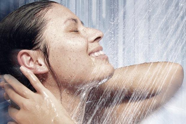 Контрастный душ в бане