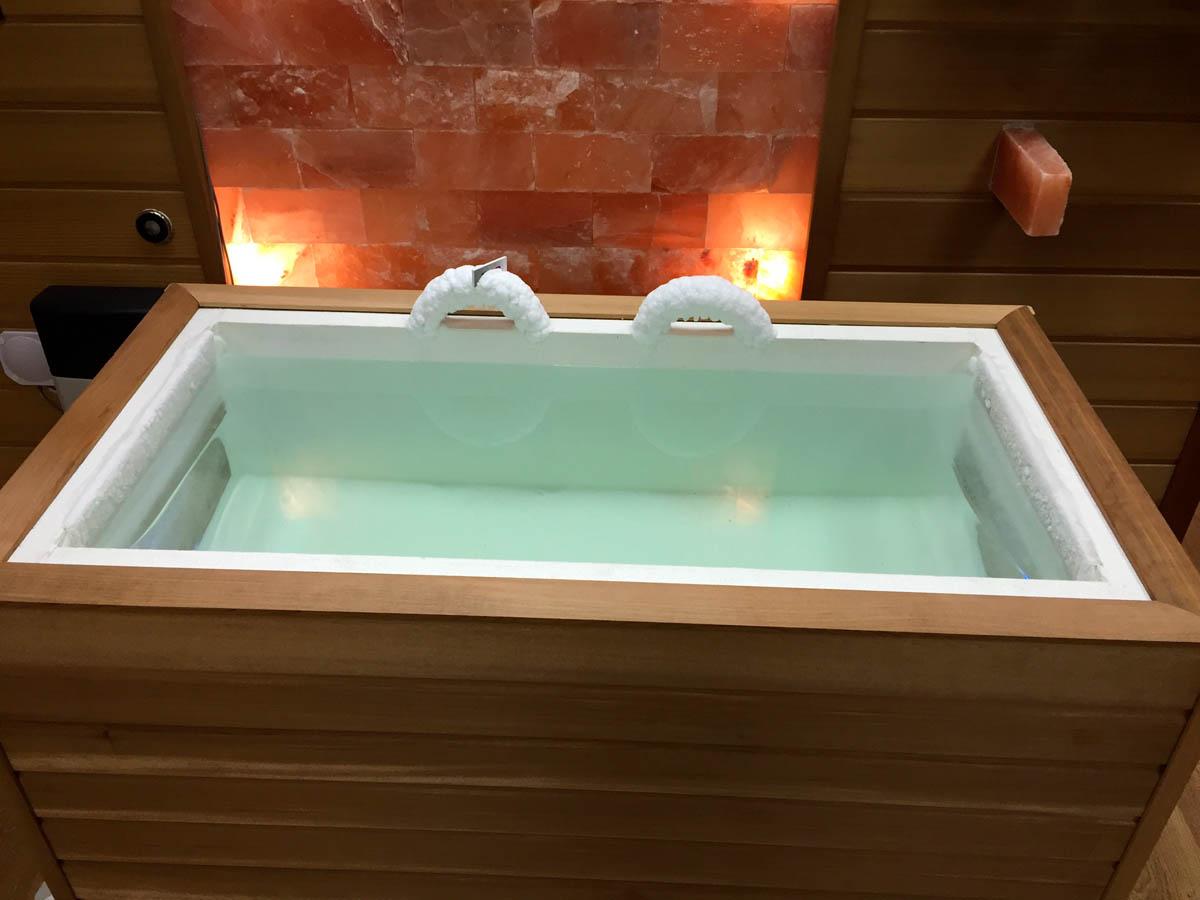 ледяная купель в бане